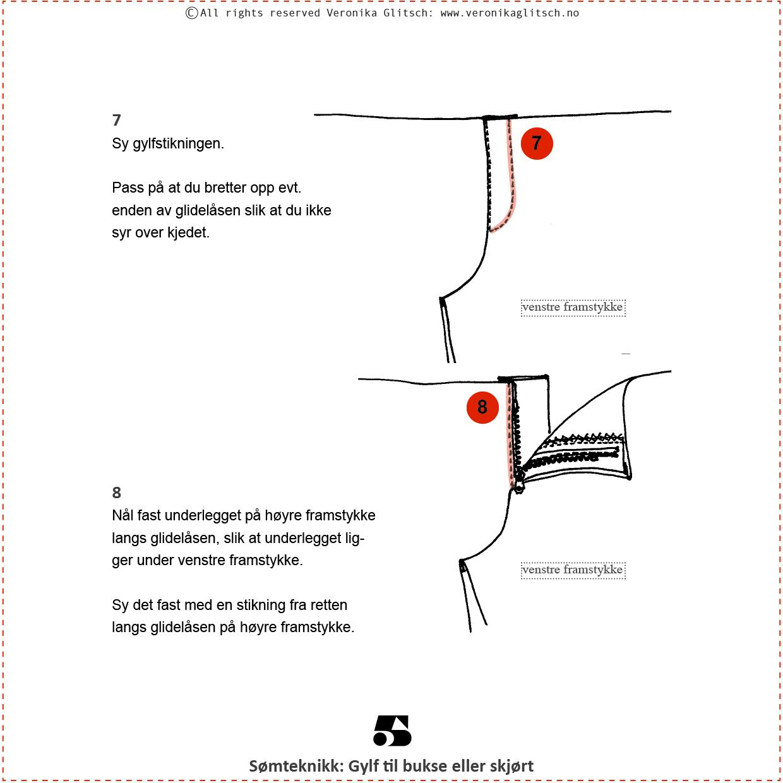 Gylf glidelås, Bloggoppskrift5
