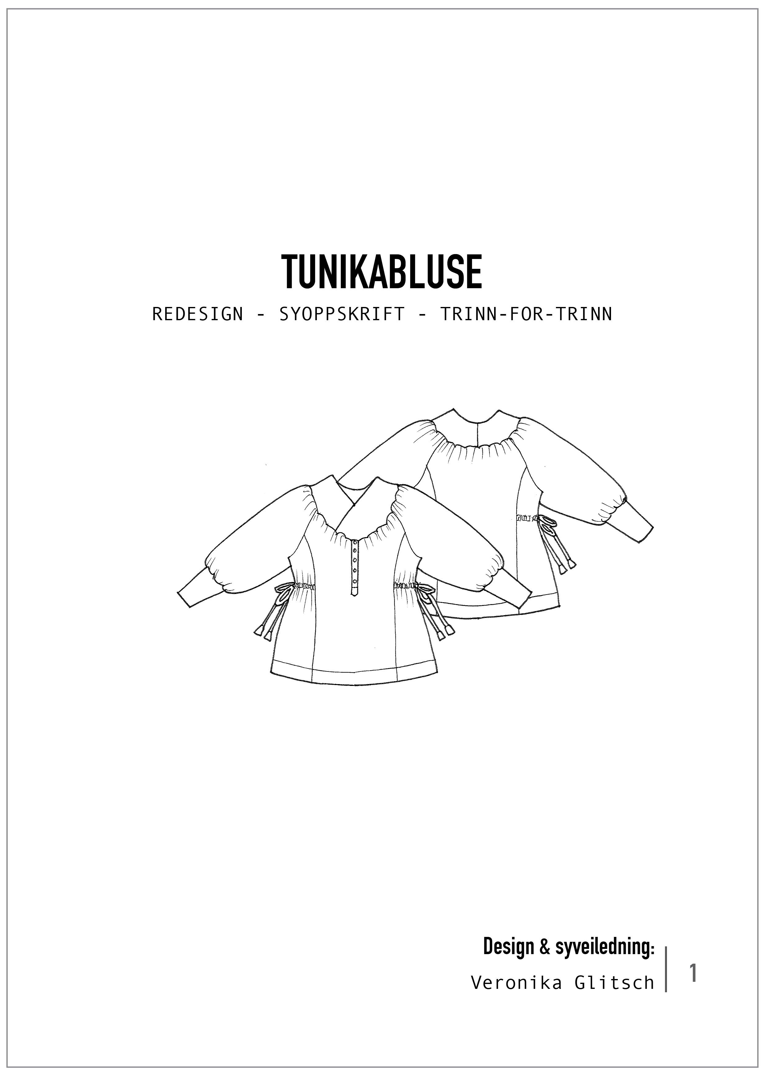 Tunikabluse redesignsyoppskrift blogg
