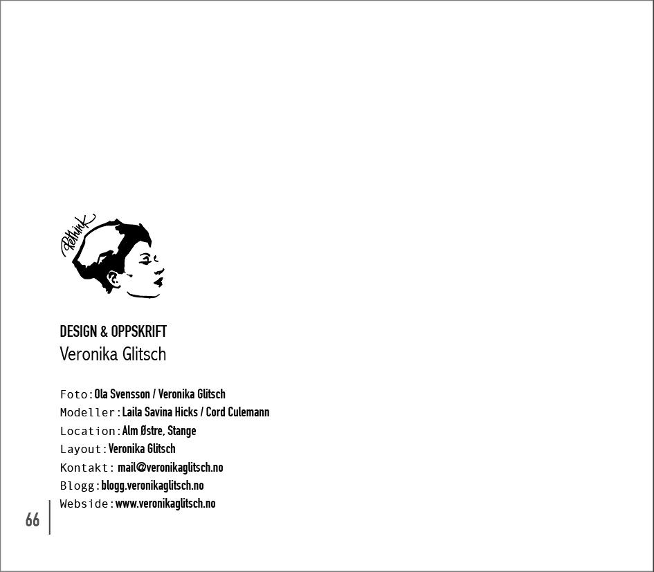 Kjoler & Kjortler Katalog Oppskrift med rammer22